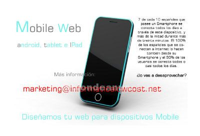 Tu web para dispositivos mobile