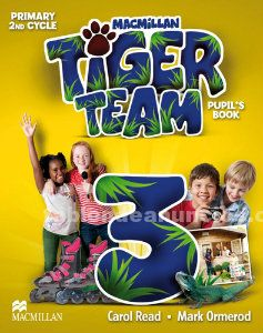 Tiger 3 primary pupil´s book (isbn  9780230476318)