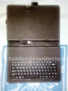 Funda teclado tablet 10""