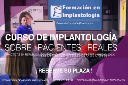 M�ster en implantolog�a oral.