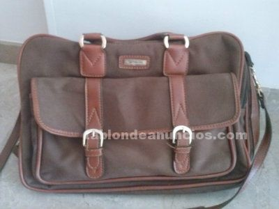 Maleta samsonite marrón