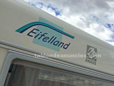 Caravana knaus eifelland holiday - impecable