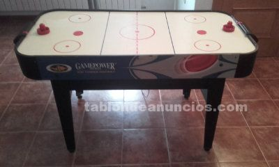 Mesa de aire air hockey de la marca gamepower sports