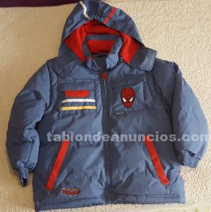 CHAQUETA SPIDERMAN TRES POLARES
