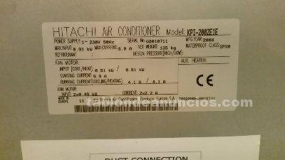 Equipo recuperador de aire de alta eficiencia  hitachi kpi-2002e1e