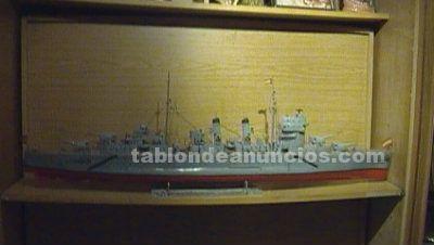 Maquetas navales artesanas