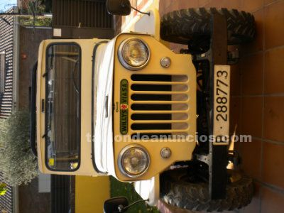 Jeep willys del 1962