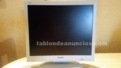 Monitor philips tft-lcd 17