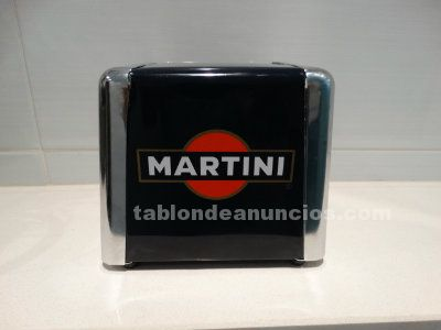 Servilletero metálico martini