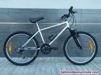 Bici rockrider 5.0 con amortiguador