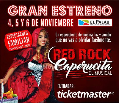 Estreno del musical red rock caperucita