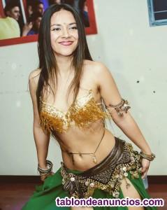 Bailarina profesional de danza oriental para hoteles de 5 *****