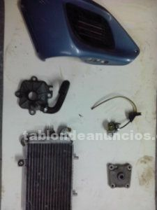 BLOQUE MOTOR HEXAGON 125, 2T, DESPIECE GILERA RUNNER