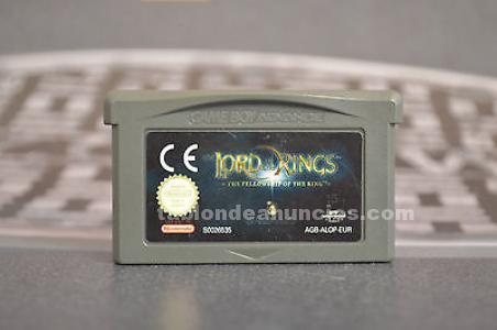 Juego Game Boy Advance El Señor de los Anillos La Comunidad del Anillo
