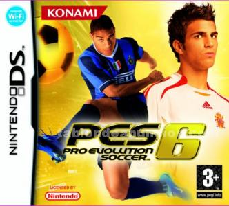 JUEGO NINTENDO DS PRO EVOLUTION SOCCER 06