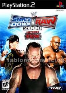 Juego ps2 smackdown vs raw 2008