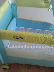 Vendo cuna jané plegable
