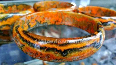 Pulsera o brazalete de autentica agata