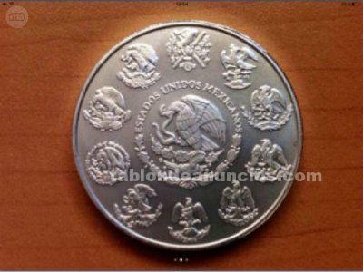 Onza de plata angel mexicana 2005