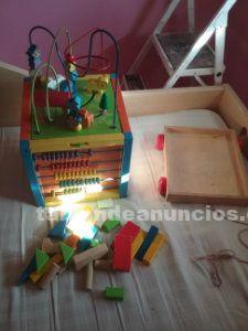 Juego de construccion en madera
