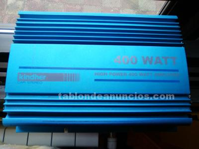 Kindher hi power 400 watt etapa amplificador