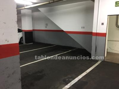 Vendo plaza parking para coche grande