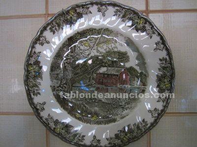 Colección de platos decorativos
