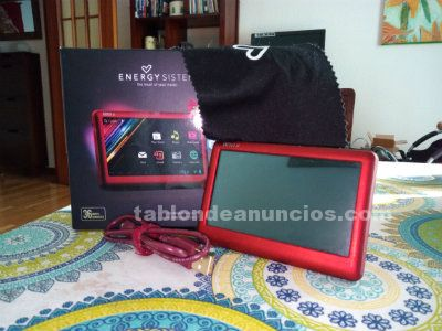 Mini-tablet energy sistem a4  lcd tactil 4.3 4gb usb m-sd wifi android