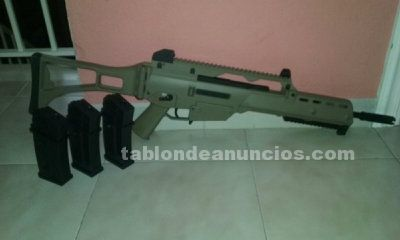 Vendo g36-k de golden eagle+cargadores