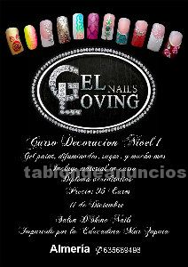 Curso decoracion uñas marca gel loving