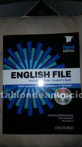 Libro english file pre-intermediate