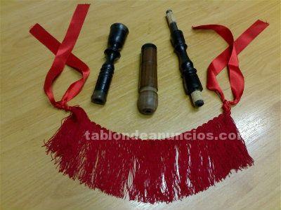 Vendo ronquillo de ebano-palo santo para gaita
