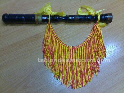 Vendo ronquillo de palo santo antiguo en re para gaita