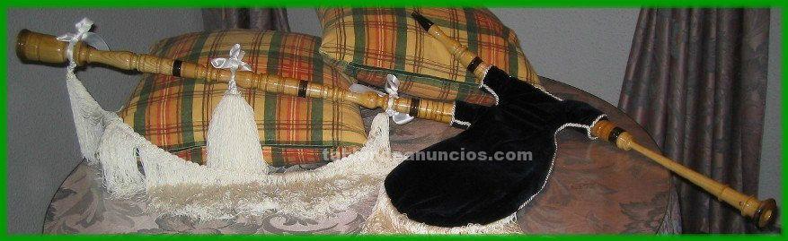 Vendo gaita gallega de fresno modelo cadete en re