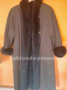 Bonito abrigo chinchilla vison