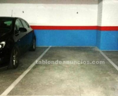 Se vende plaza garage amplia