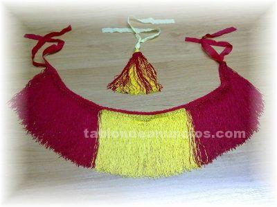 Vendo flecos bandera española para gaita
