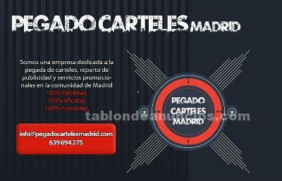 Empresa de pegado de carteles en madrid
