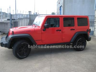 Jeep wrangler unlimited 2.8crd moab aut