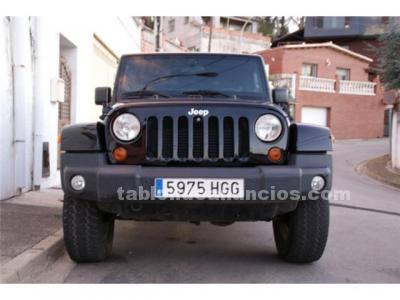 Jeep wrangler sahara unlimited 2.8 crd 200