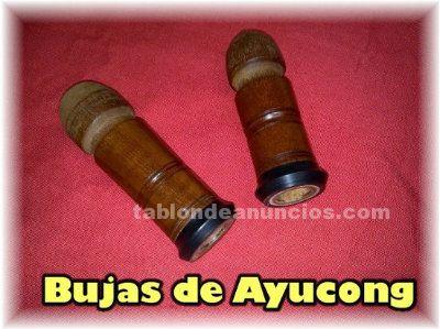VENDO BUJAS DE AYUCONG PARA GAITA