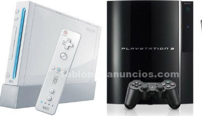 VENDO VIDEOCONSOLA WII Y PLAYSTATION 3