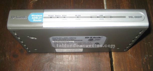ROUTER WIRELESS DLINK DSL-G624T