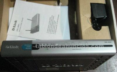 Router dlink dsl-604+