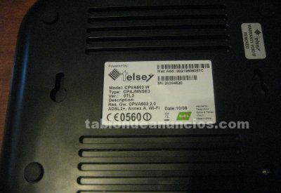 Router telsey cpva503 w