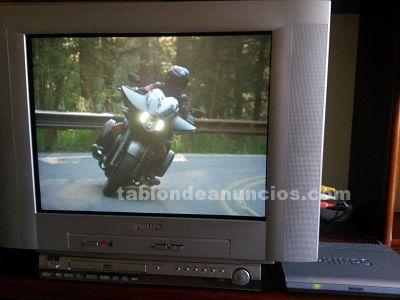 Televisor philips crt + tdt+ reproductor
