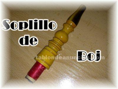 VENDO SOPLILLO DE BOJ PARA GAITA