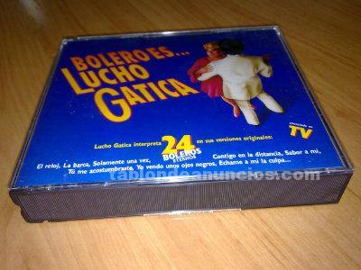 VENDO CDs ORIGINALES CON BOLEROS DE LUCHO GATICA