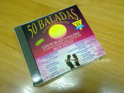 VENDO CDS ORIGINALES CON 50 BALADAS INOLVIDABLES