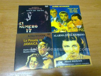 VENDO PELICULAS DE HITCHCOCK EN DVDS ORIGINALES